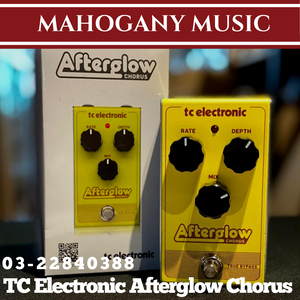 TC Electronic Afterglow Chorus Guitar Effects Pedal