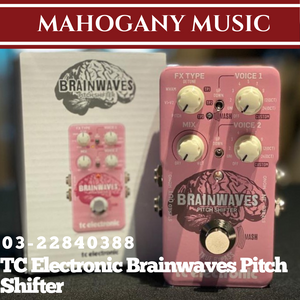 TC Electronic Brainwaves Pitch Shifter Guitar Effects Pedal