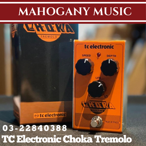 TC Electronic Choka Tremolo Guitar Effects Pedal
