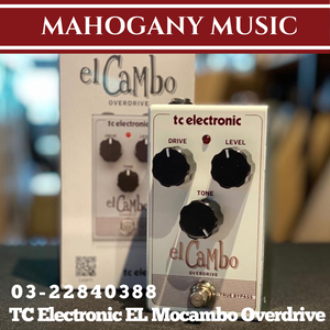 TC Electronic EL Cambo Overdrive Guitar Effects Pedal
