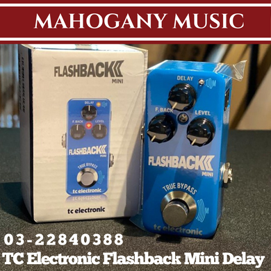 TC Electronic Flashback Mini Delay Guitar Effects Pedal (New)