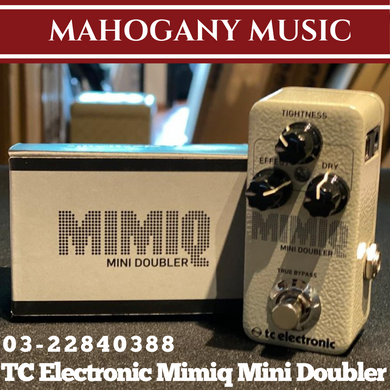 TC Electronic Mimiq Mini Doubler Guitar Effects Pedal