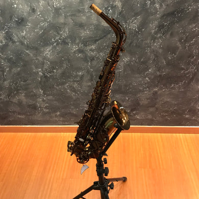 Chateau Alto Saxophone Professional Model VAS-500DE Dark lacquer finish