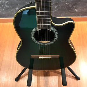 Ovation Celebrity CS153 Green Burst Nylon Guitar