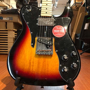 Fender Squier Vintage Modified Telecaster Custom 3 Tone Sunburst Electric Guitar