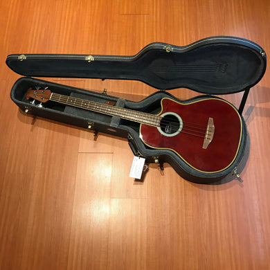 Ovation Applause AE140  Red Acoustic Bass