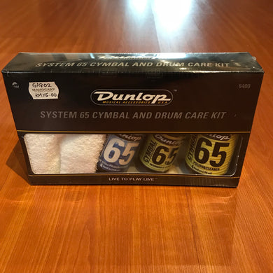 Dunlop Drum 65 Cymbal and Drum Care Kit