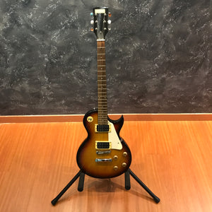 Mahogany Sunburst LP 100 Electric Guitar