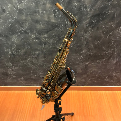 Chateau Alto Saxophone Student Model Vch-221bl Black Plated Body