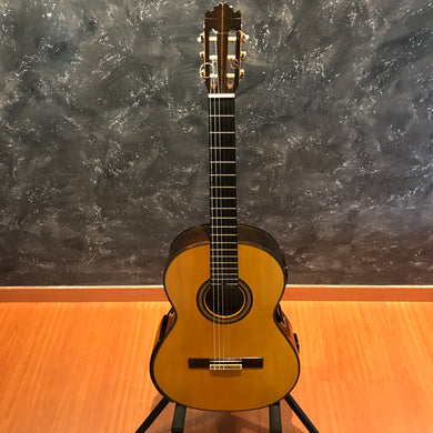 Manuel Contreras Ano:1995 Double Top Resounding Back Classical Guitar [USED]