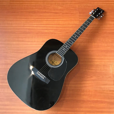 Suzuki SDG 5PK Black Finish Acoustic Guitar