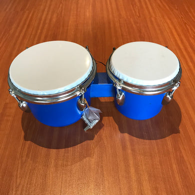 Blue Congo Drums