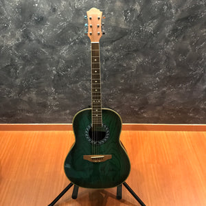 Stony HRB50 Green Acoustic Guitar