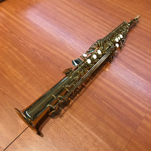 Chateau Straight Soprano Saxophone VCH-242L -All Lacquer Finish
