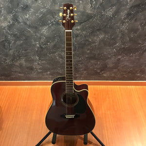 Takamine EG-334RC Burgundy Acoustic Guitar