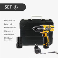 Household Lithium-Ion Battery Cordless Drill