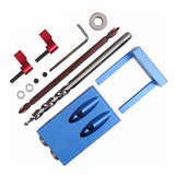 Pocket Hole Jig Kit System For Wood Working & Joinery