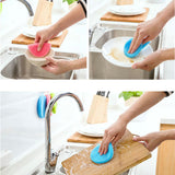 Soft Silicon Dish Washing Brush