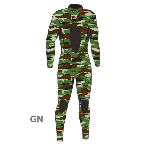WS-726 (3mm Camo Spearfishing Suit)