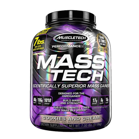 MuscleTech Mass Tech (Milk Chocolate - 7lbs) - Keluar.my | Be Awesome | Step Outside | Do Outdoors