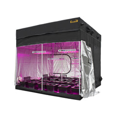 SuperCloset  9′ x 9′ LED Hydro Grow Room Kit - (x4) KIND XL1000