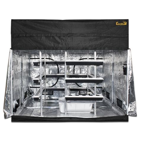 SuperCloset Big Buddha Box 9′ x 9′ Vertical Full Grow Room Kit