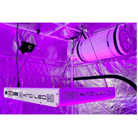 SuperCloset SuperRoom 5′ x 9′ LED Complete Grow Kit with KIND XL750