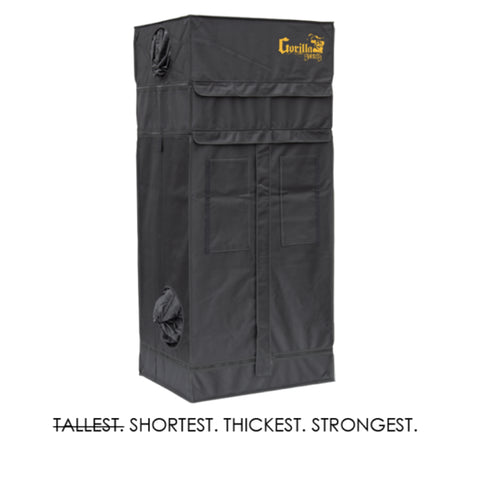 Gorilla Shorty Indoor Grow Tent 2 x 2.5