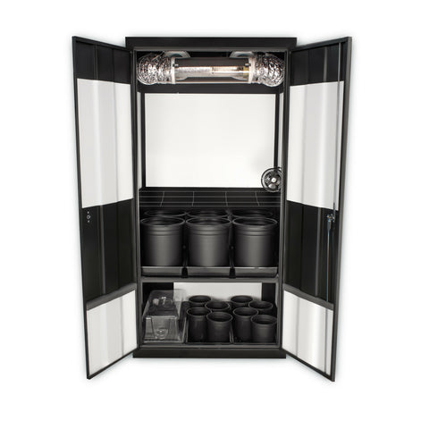 SuperCloset Deluxe HPS Soil Upgrade Grow Kit - 600w HPS Bulb and Ballast