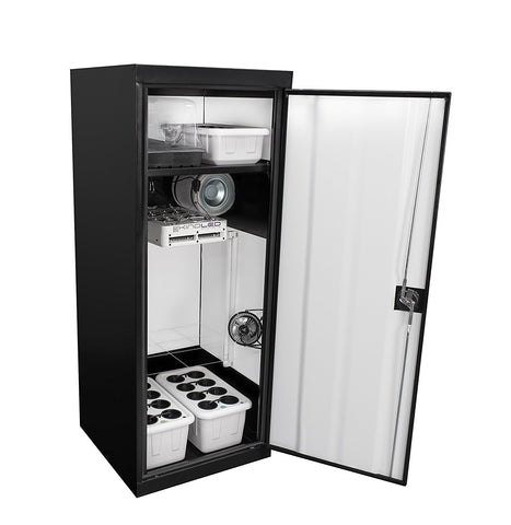SuperCloset SuperStar 3.0 Grow Cabinet with KIND L300 LED Light