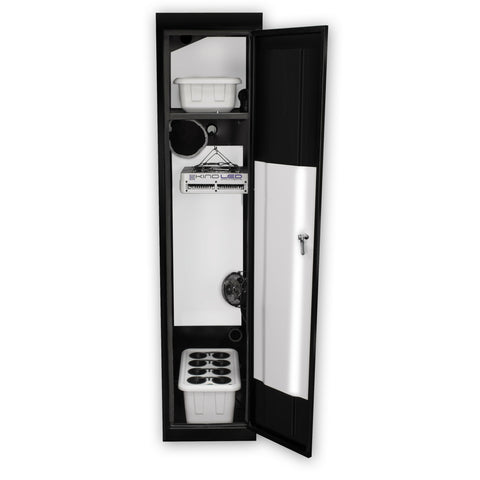 SuperLocker 3.0 Hydroponic Grow Cabinet with KIND L300 LED