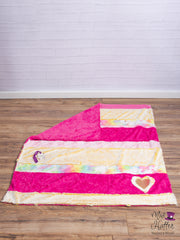 Mad Hatter Warped & Woven Fantastical Horizon Minky Blanket -Lap Size