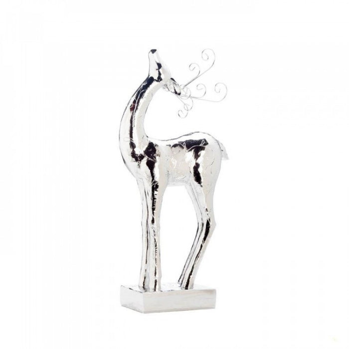 Silver Dasher Xl Statue
