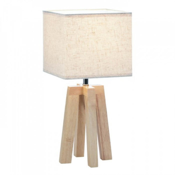 Geo Wooden Table Lamp