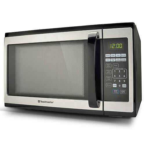 Toastmaster-Toastmaster 1.4 CFT Microwave Oven Stainless Steel