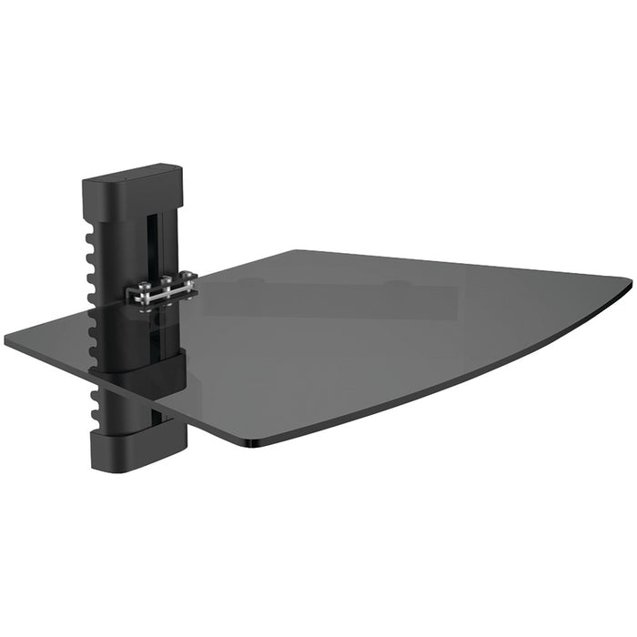 Level Mount Single Glass Wall-mount Shelf
