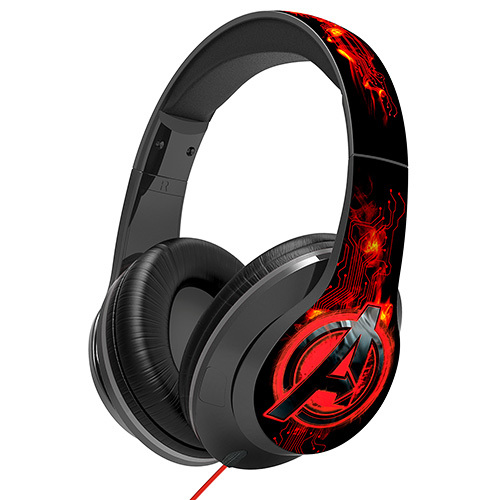 KIDdesigns-Avengers Age of Ultron Over-the-Ear Light Up Headphones