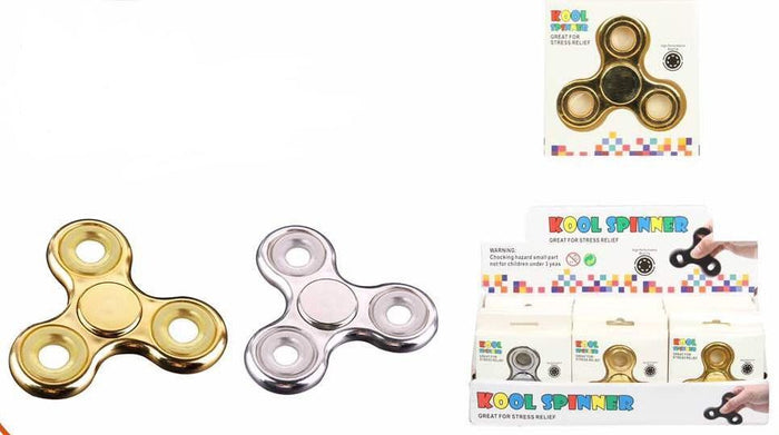 Metallic Fidget Spinners Case Pack 144