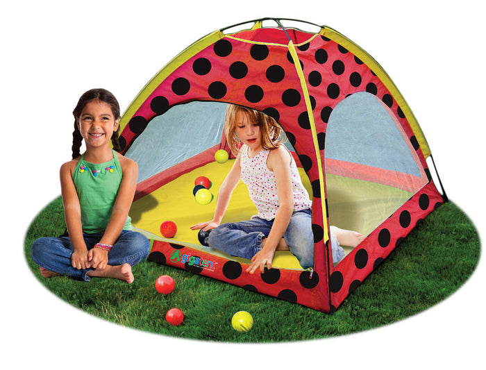 Lady Bug Playhouse Kids Play Tent
