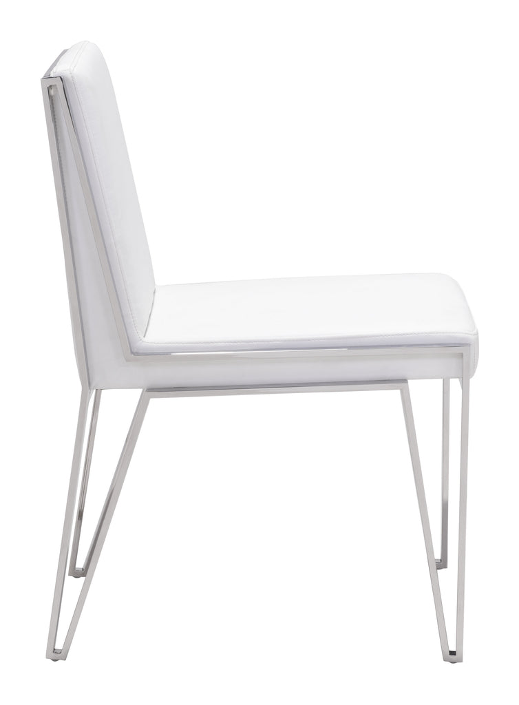 Kylo Dining Chair White (Set of 2)