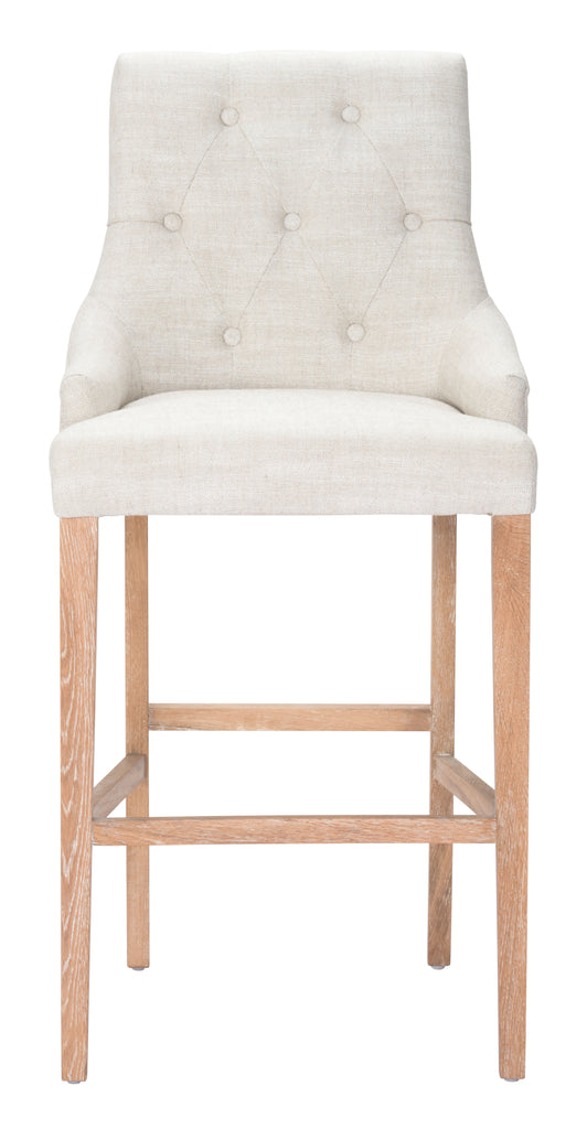 Burbank Bar Chair Beige