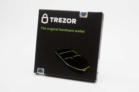 Trezor packaging and seal