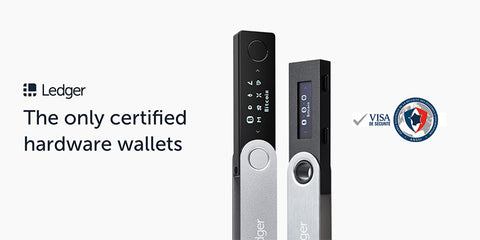 Ledger Nano S the only certified cryptocurrency hardware wallet