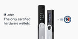 Ledger backup pack Nano X Nano S certified