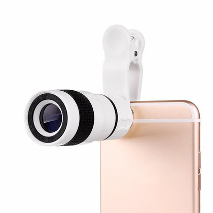 Universal 8x Optical Zoom Camera Lens Clip