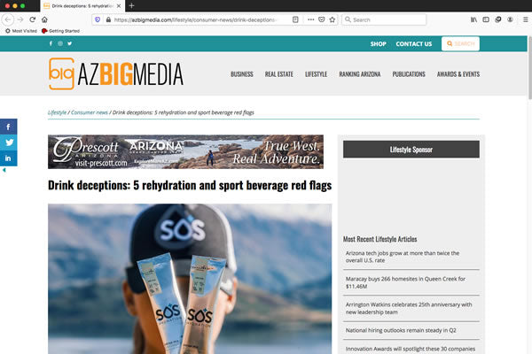 Drink deceptions: 5 rehydration and sport beverage red flags