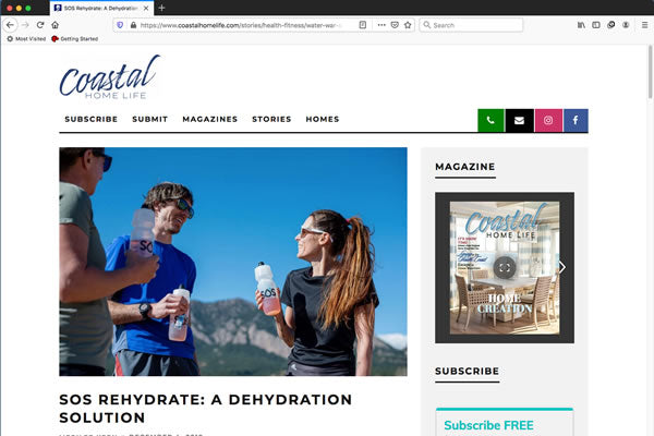 SOS Rehydrate: A Dehydration Solution