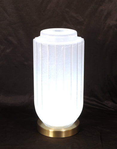 Art Glass LED Lamp Lotus
