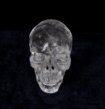 High Clarity Carved Rock Crystal Skull 5.3""