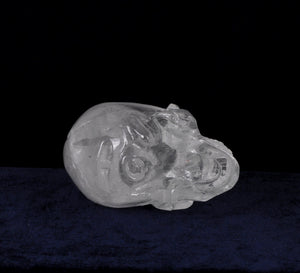 Carved Rock Crystal Skull High Clarity